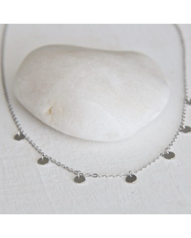 collar moon plata